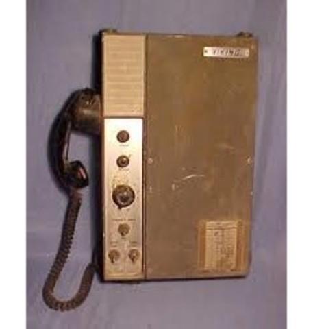 Radio teléfono de larga distancia