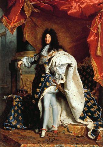 Hyacinthe Rigaud - Louis XIV en costume de sacre