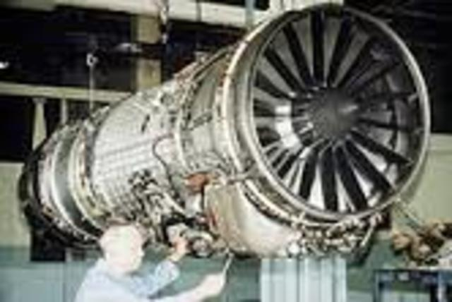 Motor aeronáutico de turborreacción
