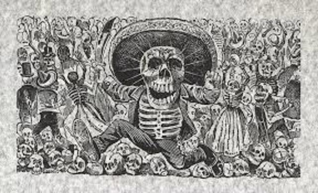 José Guadalupe Posada 1910 México