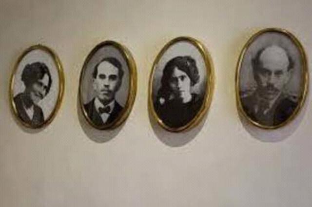 Los hermanos Serdán (Aquiles, Carmen y Máximo)