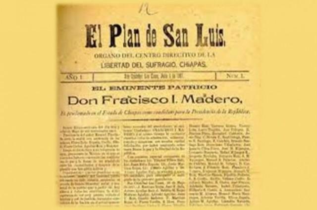 escapa de la cárcel, Madero llega a los Estados Unidos