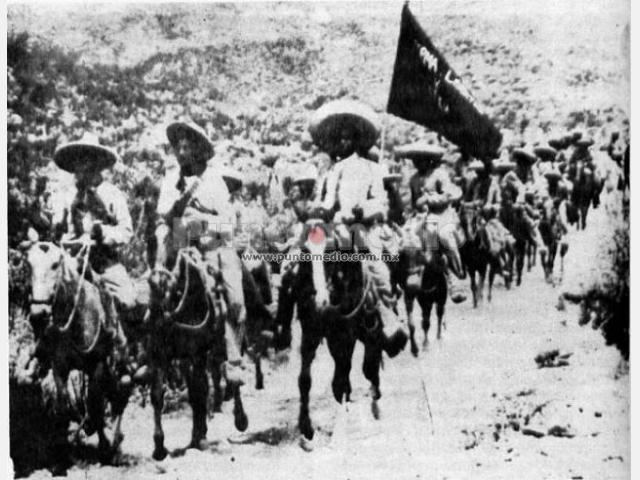 Estalla una revuelta en contra del gobierno de Madero