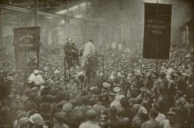 Revolucion rusa (entre febrero y octubre 1917)