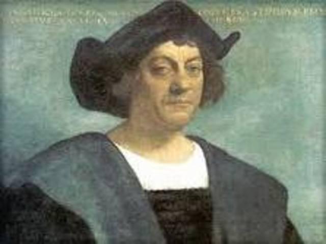 Columbus Departs on 1st voyage