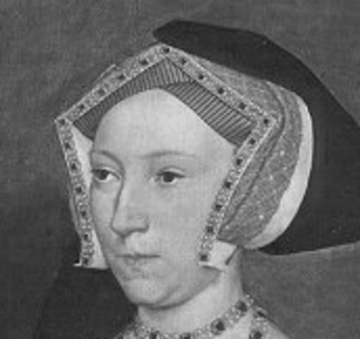 King Henry VIII married Jane Seymour