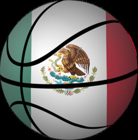 Medalla de Oro para México del Centrokasket