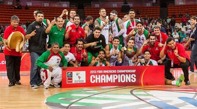 México gana campeonato FIBA Américas 2013