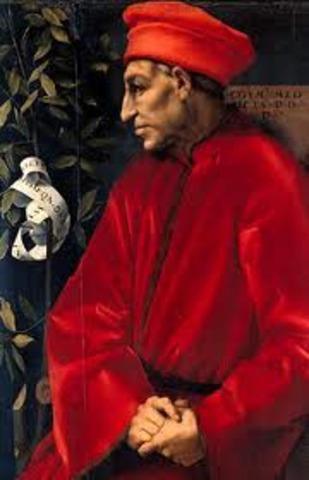 Cosimo de Medici Rises to Power in Florence, Italy