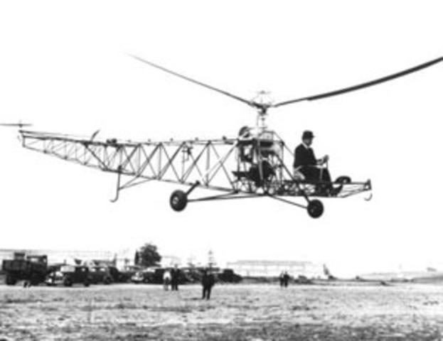 Invención del helicóptero