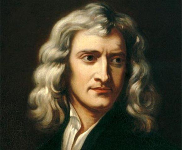 Isaac Newton (1681)