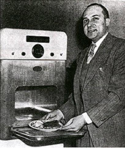 Invención del microondas