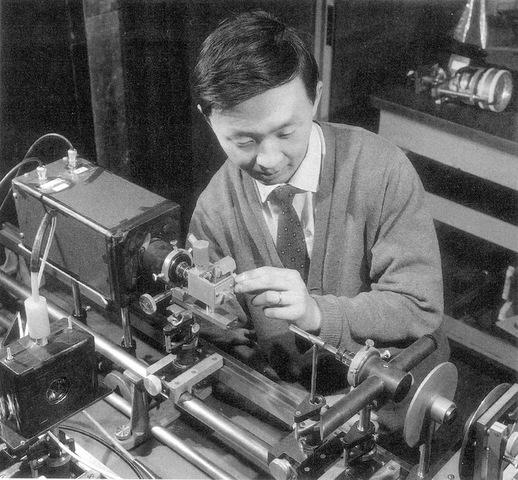 Invención fibra óptica