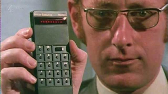 Invención de la calculadora de bolsillo