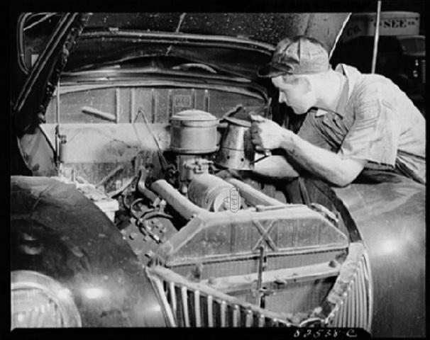 Первые автомеханики