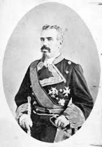 GOLPE DE ESTADO DEL GENERAL ARSENIO MARTÍNEZ CAMPOS