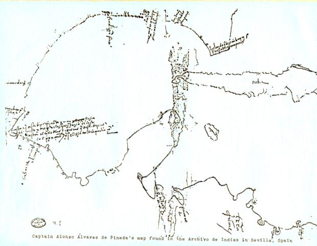 Pineda's voyage