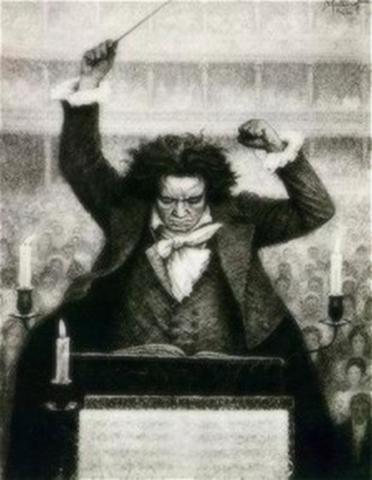 Beethoven IX. Szimfóniájának bemutatása