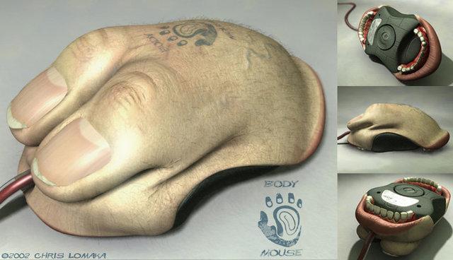 Chris Lomaka - Body Mouse