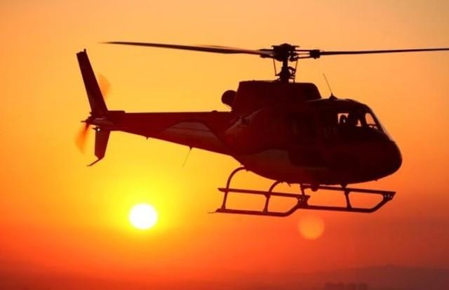 Helicóptero -  aéreo