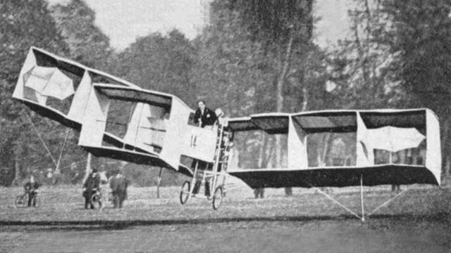 Transporte aéreo -14bis