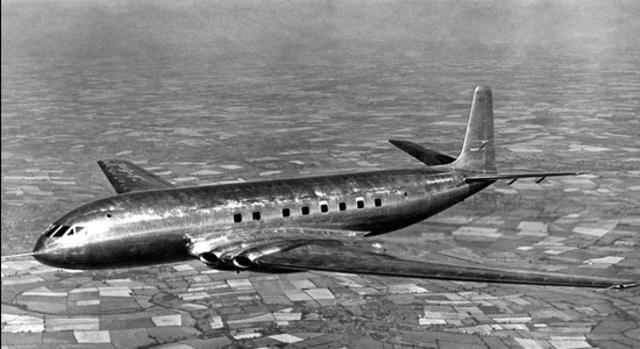 Transporte aéreo  - a era do jato