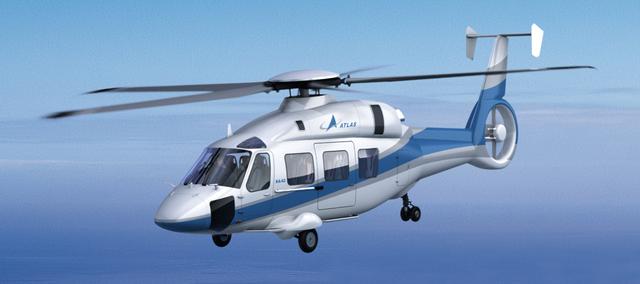 Transporte aéreo -helicópteto