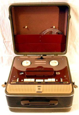 Катушечный ламповый магнитофон 2-го класса «Мелодия МГ-56»