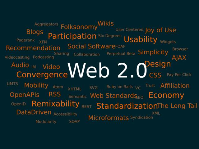 """Les 7 principes du """"Web 2.0"""""""