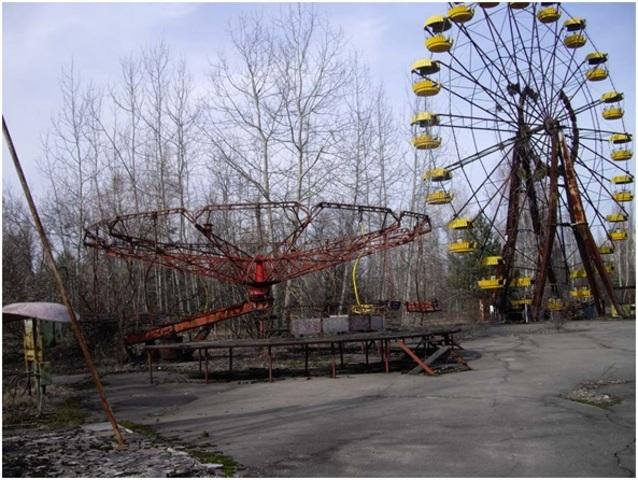 Chernóbil.
