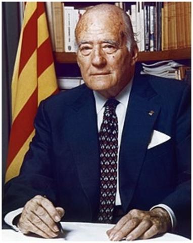 Josep Tarradellas.
