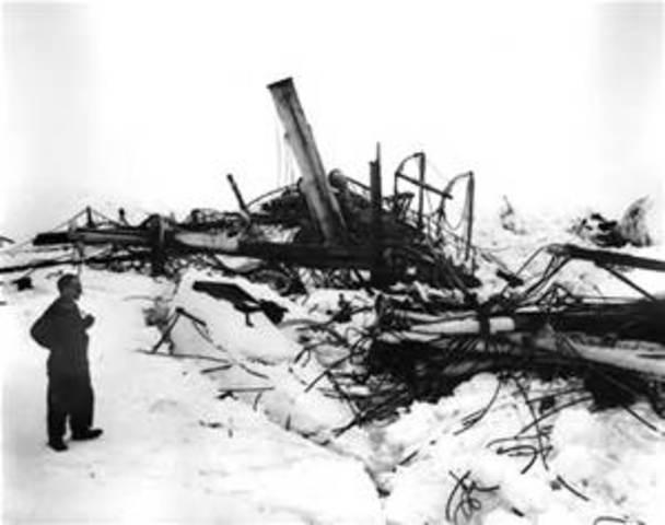 Ernest Shackleton Returns to Antartica
