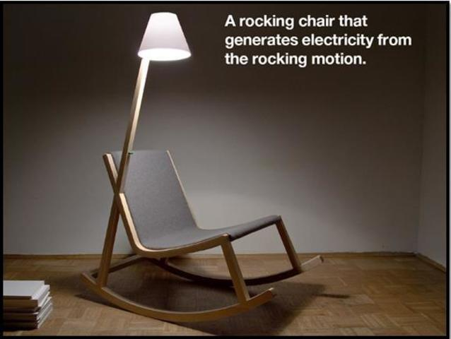 silla que ilumina