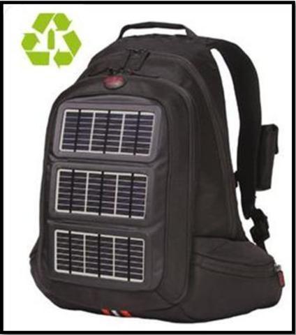 mochila fotovoltaica