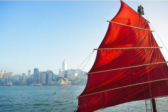 El bote de vela