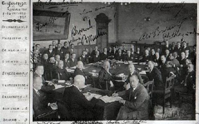 Se firma una alianza entre Gran Bretaña, Francia y Bélgica