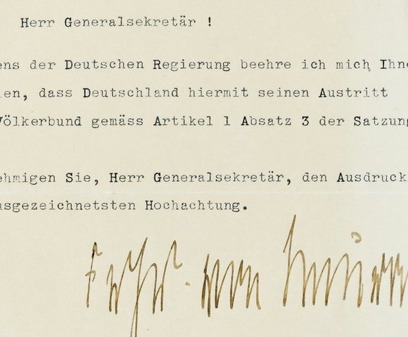 Adhesión de Alemania en la Sociedad de Naciones