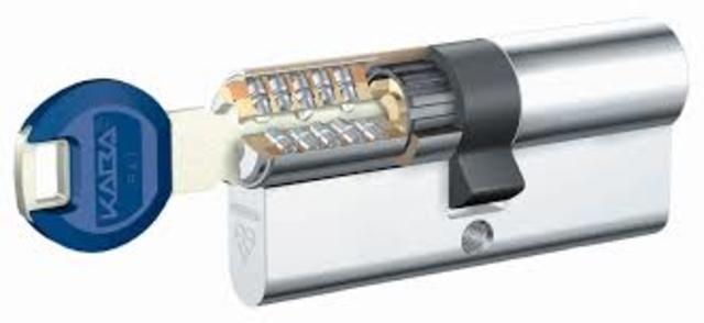 Cerradura de cilindro