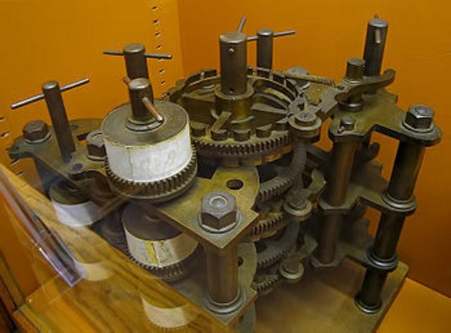 Модель разностной машины Бэббиджа