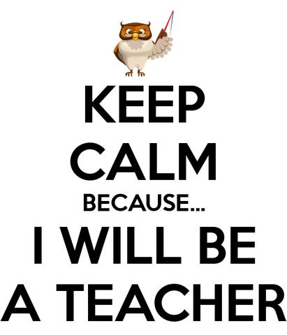 """Я буду учителем английского!"""