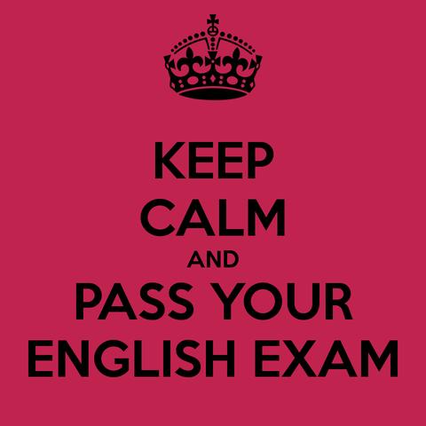"""Первый экзамен по английскому языку. Конечно же """"ПЯТЬ""""!"""