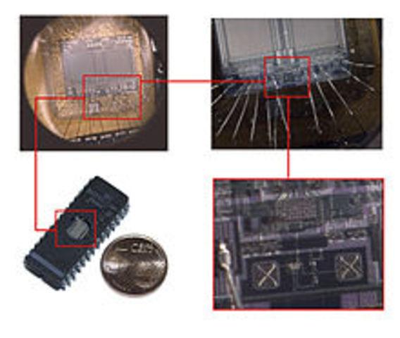 Интегральные микросхемы (чипы)
