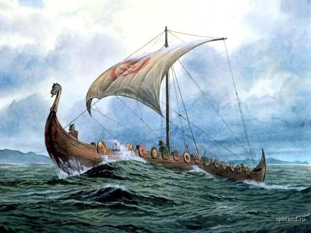 Влияние скандинавской группы языков