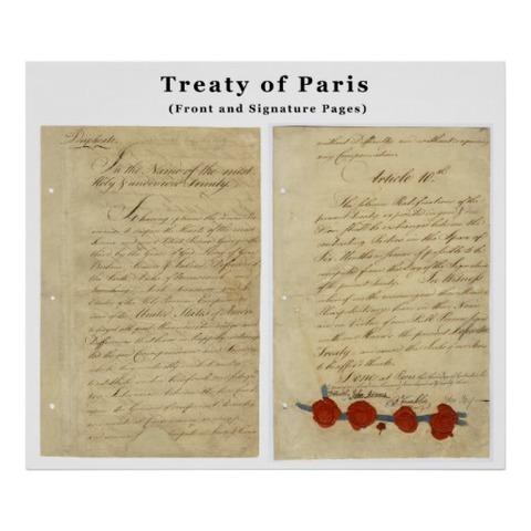 Treaty of Paris and start of British North America's economic activities