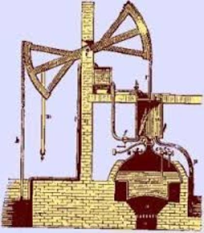 Máquina De Vapor De Extractora (Inglaterra 1698 Thomas Savery)