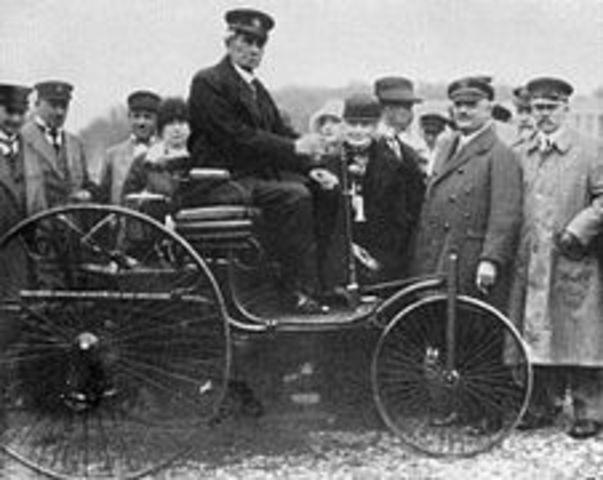 Motor 4 Tiempos (Alemania 1879 Karl Benz)