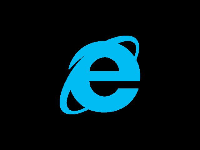 Lancement d'Internet Explorer