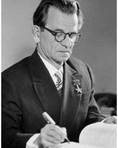 Сергей Алексеевич Лебедев (1902-1974)