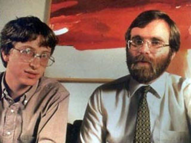 Билл Гейтс (1955 г.р.) и Пол Аллен (1953 г.р.)