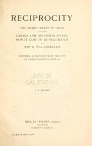Reciprocity Treaty between British North America and the United States